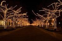 Подключение освещения зданий в Тольятти